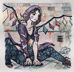 Rin in Touhou