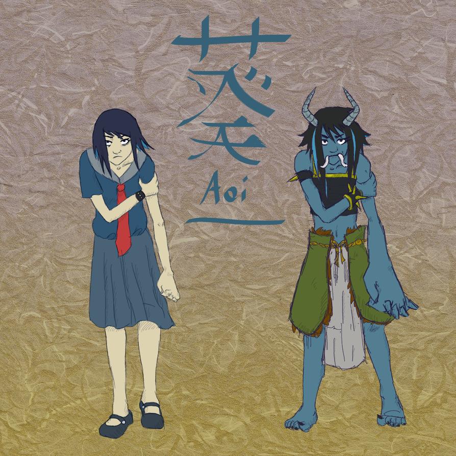 Demon Gate Concept - Aoi by The-Concept-Artist