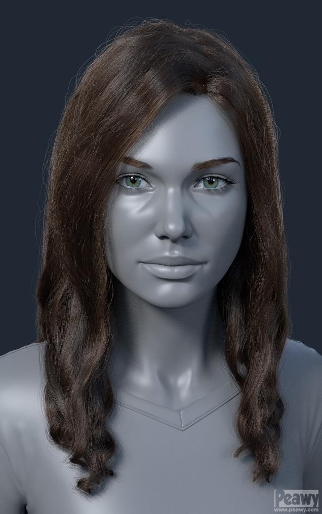 Jana Hair test by peawy