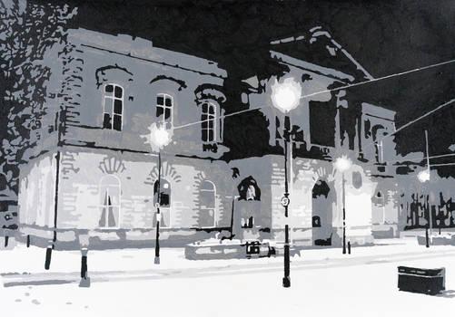 Acrylics Accrington Town Hall 2015