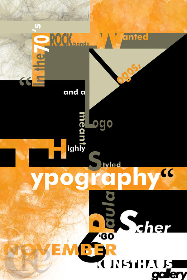 Paula Scher Design Exploration by NokturnasKikilias