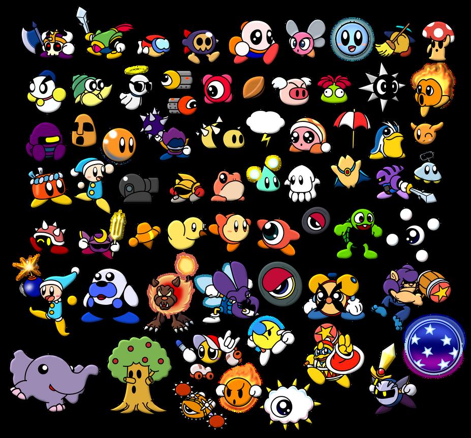Image Gallery kirby enemies