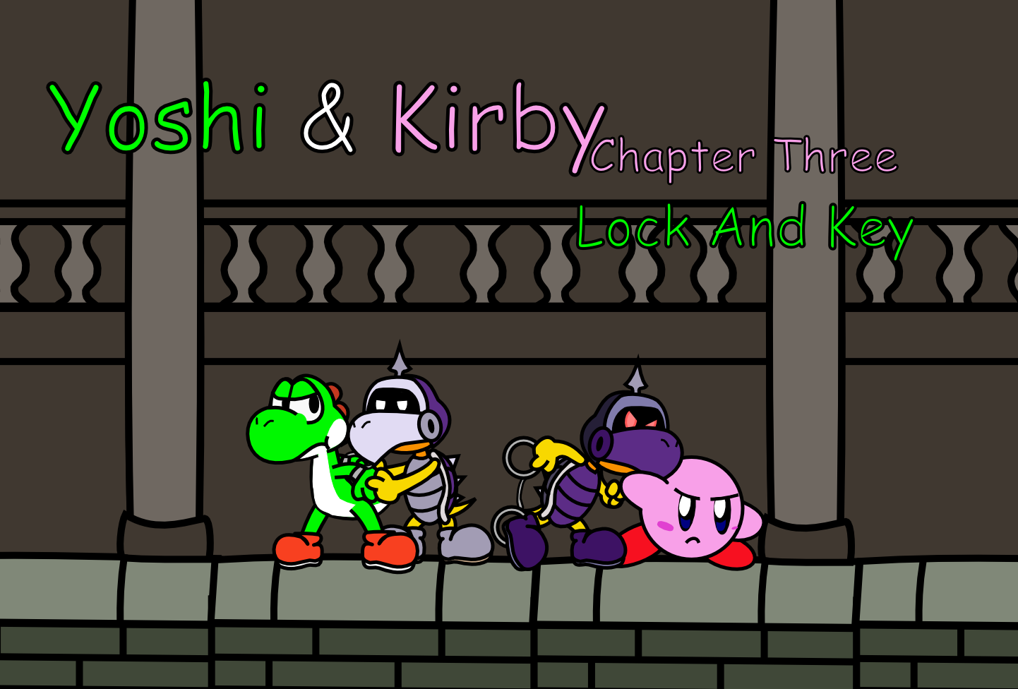 Yoshi And Kirby - Chap 3 Intro by UltimateYoshi on DeviantArt