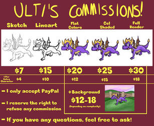 Ultizeta's Commissions 2017 by UltimateYoshi