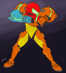 (P) Samus by UltimateYoshi