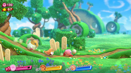 Swoobird Star Allies - Screenshot Mockup by UltimateYoshi