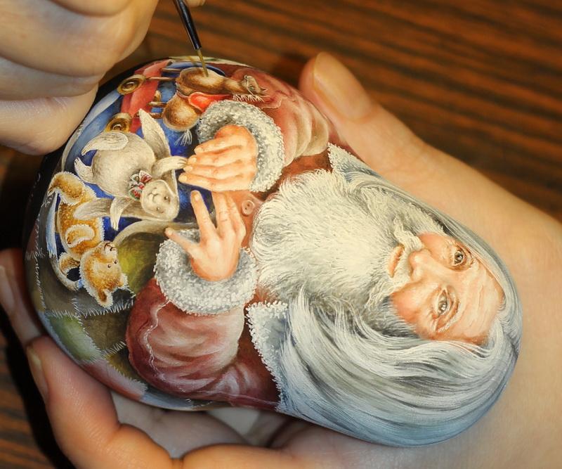 Painting Santa doll by spb-masters