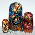 Russian shawls by spb-masters
