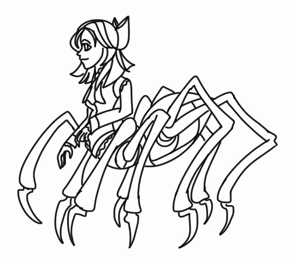 half spider girl thing by kittify on deviantart spiderman face clipart black and white Spider-Man Face