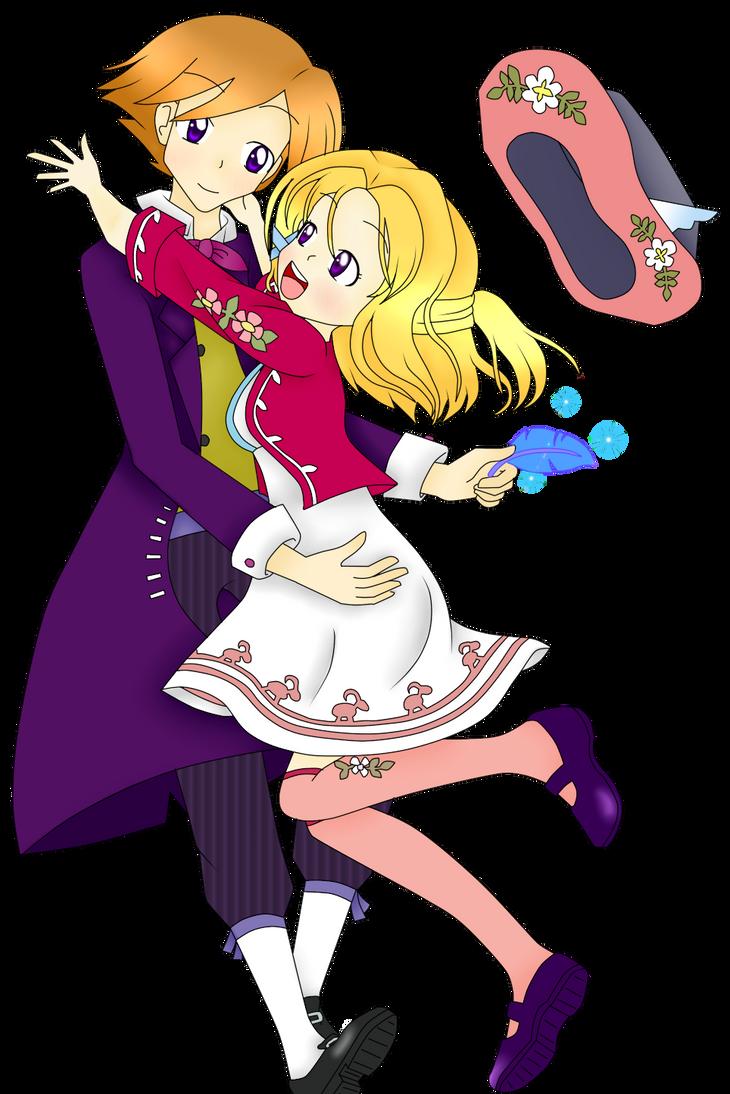 Harvest Moon Grand Bazaar - Gretel and Ivan by Kagami-Usagi