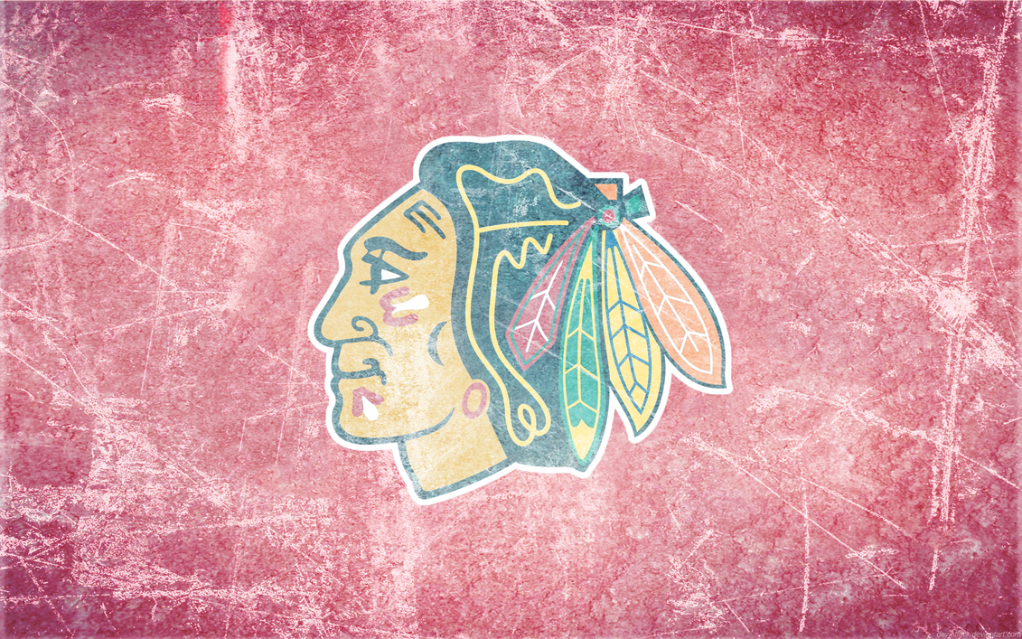 Blackhawks Ice Wallpaper By DevinFlack