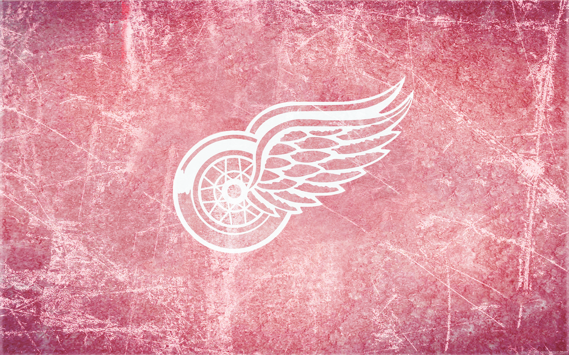Red Wings Ice Wallpaper By DevinFlack