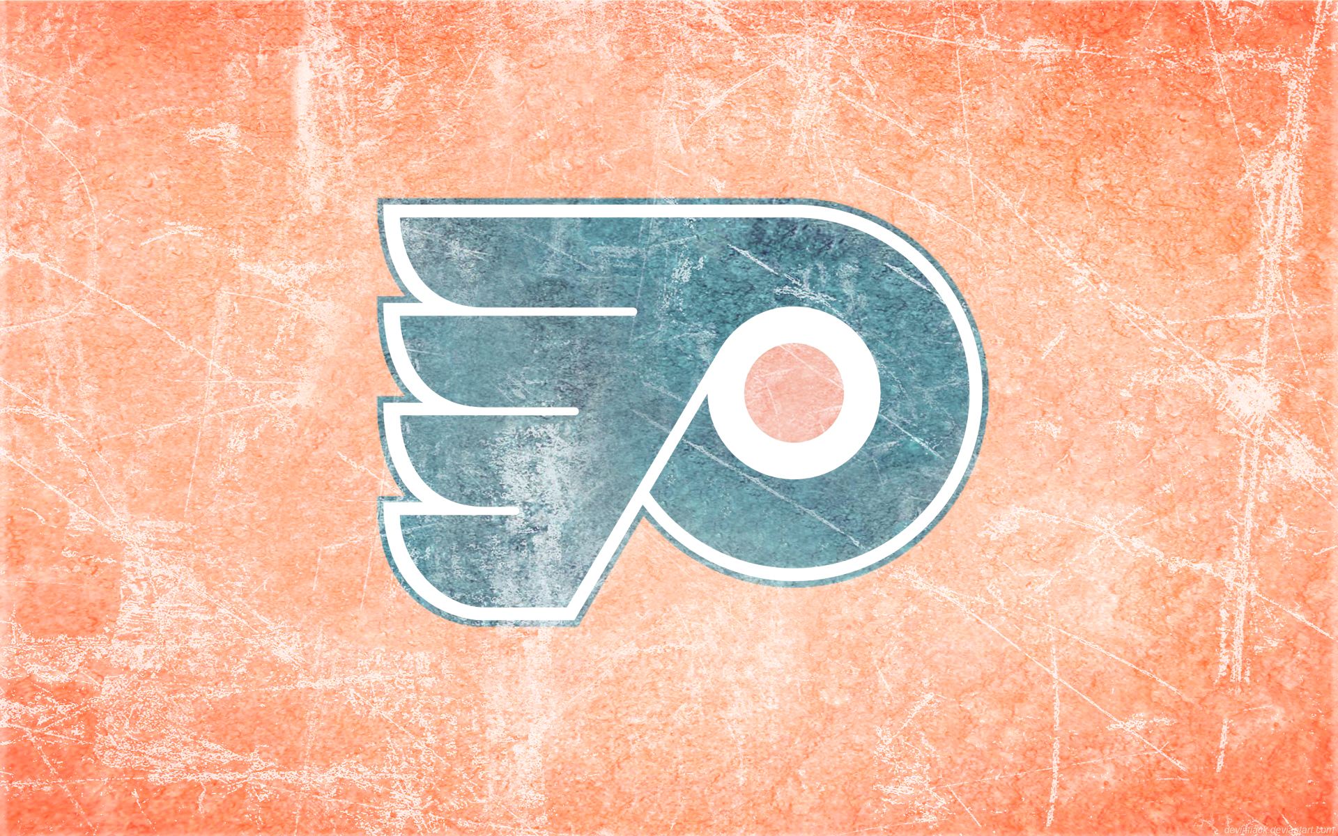 Flyers Ice Wallpaper By DevinFlack