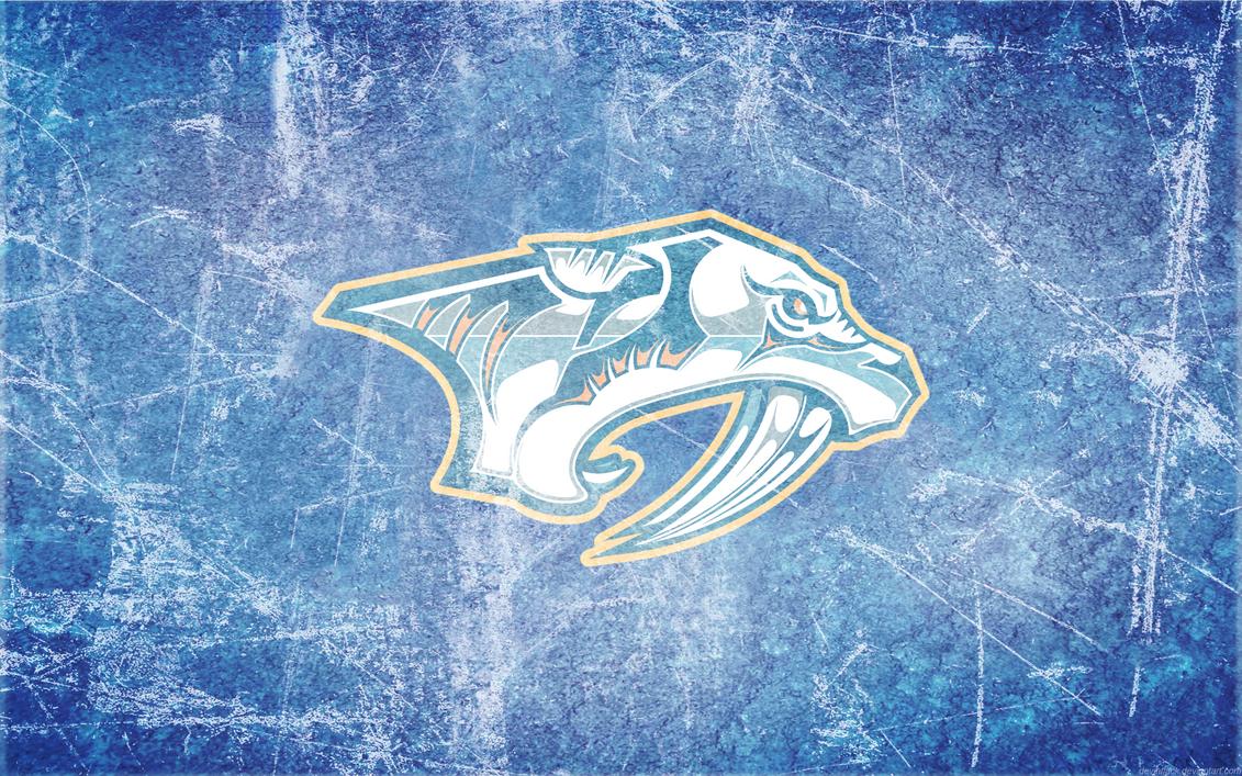 Predators Ice HD Wallpaper Nashville Hockey