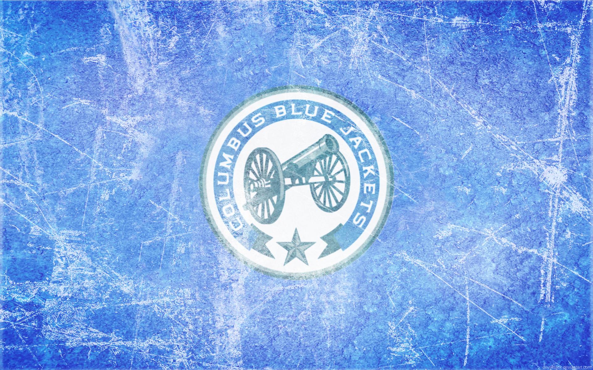 Blue Jackets Alt Ice Wallpaper By DevinFlack On DeviantArt