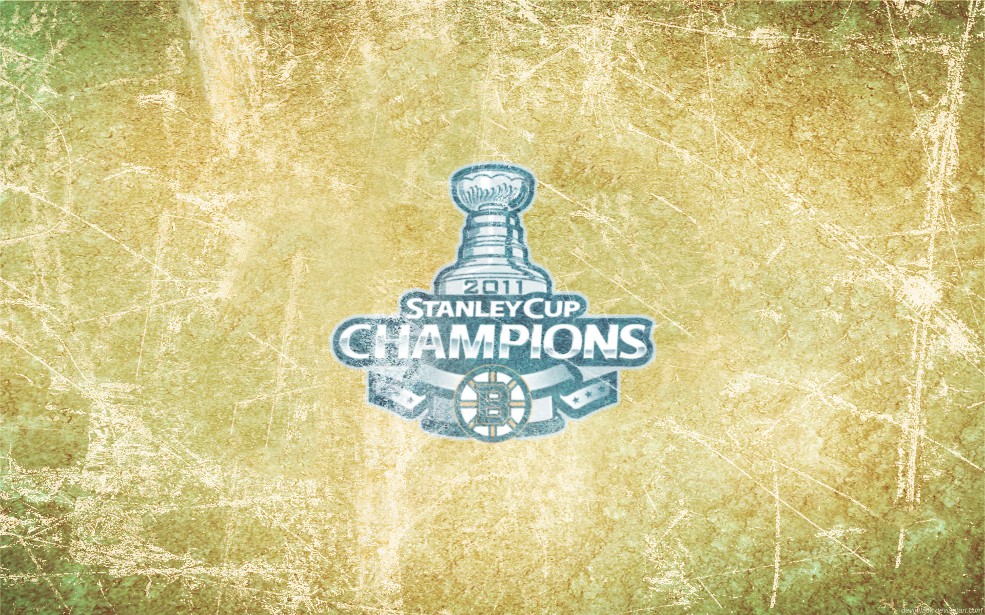 Bruins Champions Ice Wallpaper By DevinFlack