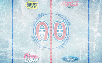 Bell Centre Ice Wallpaper by DevinFlack