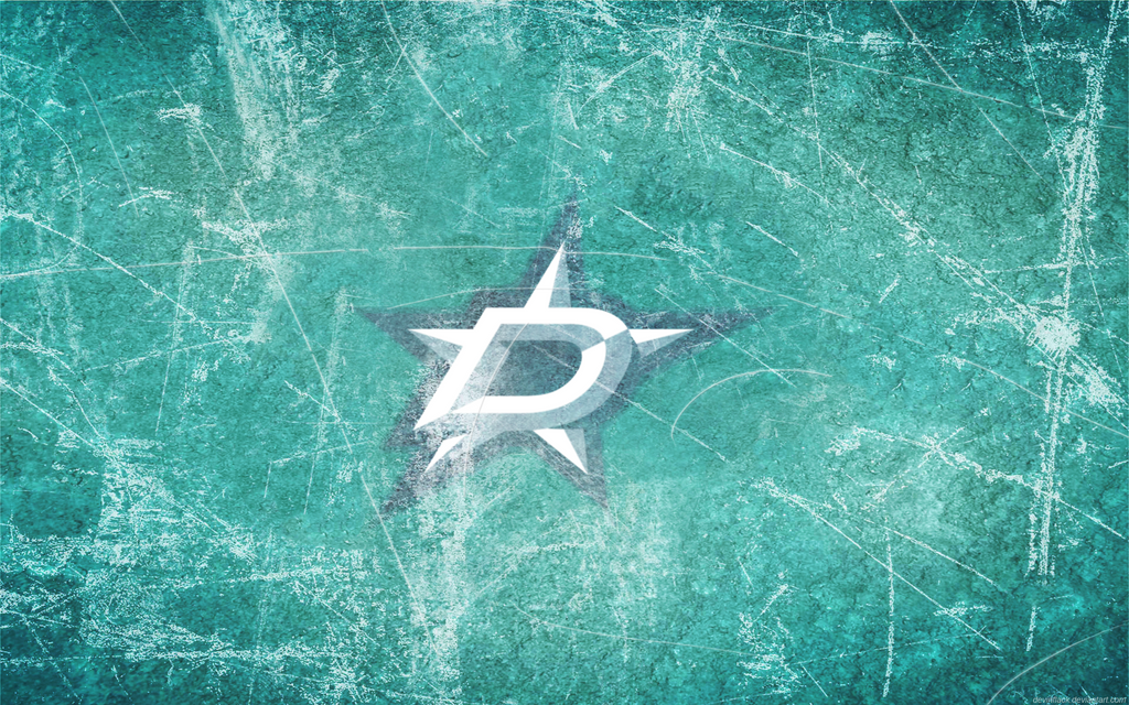 Dallas Stars Updated Ice Wallpaper by DevinFlack