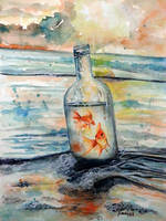 Life in a bottle by Naomi89