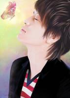 butterfly kiss by MsMiyavi