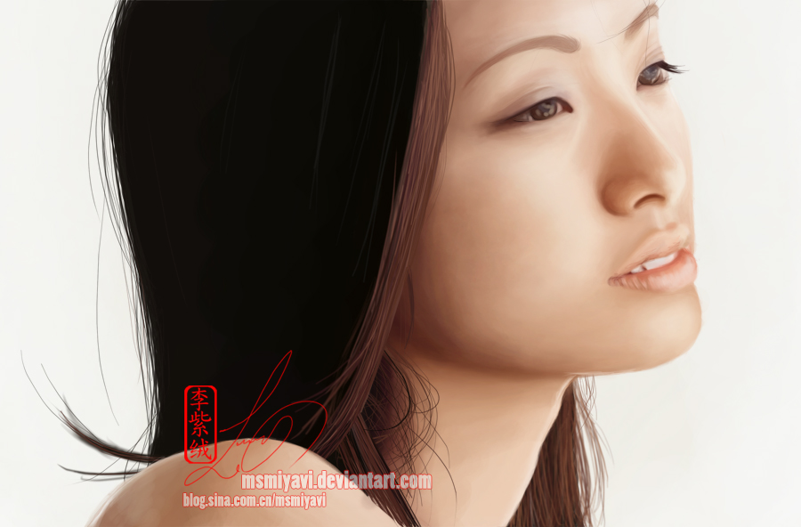 aya ueto speedpaint by MsMiyavi on DeviantArt