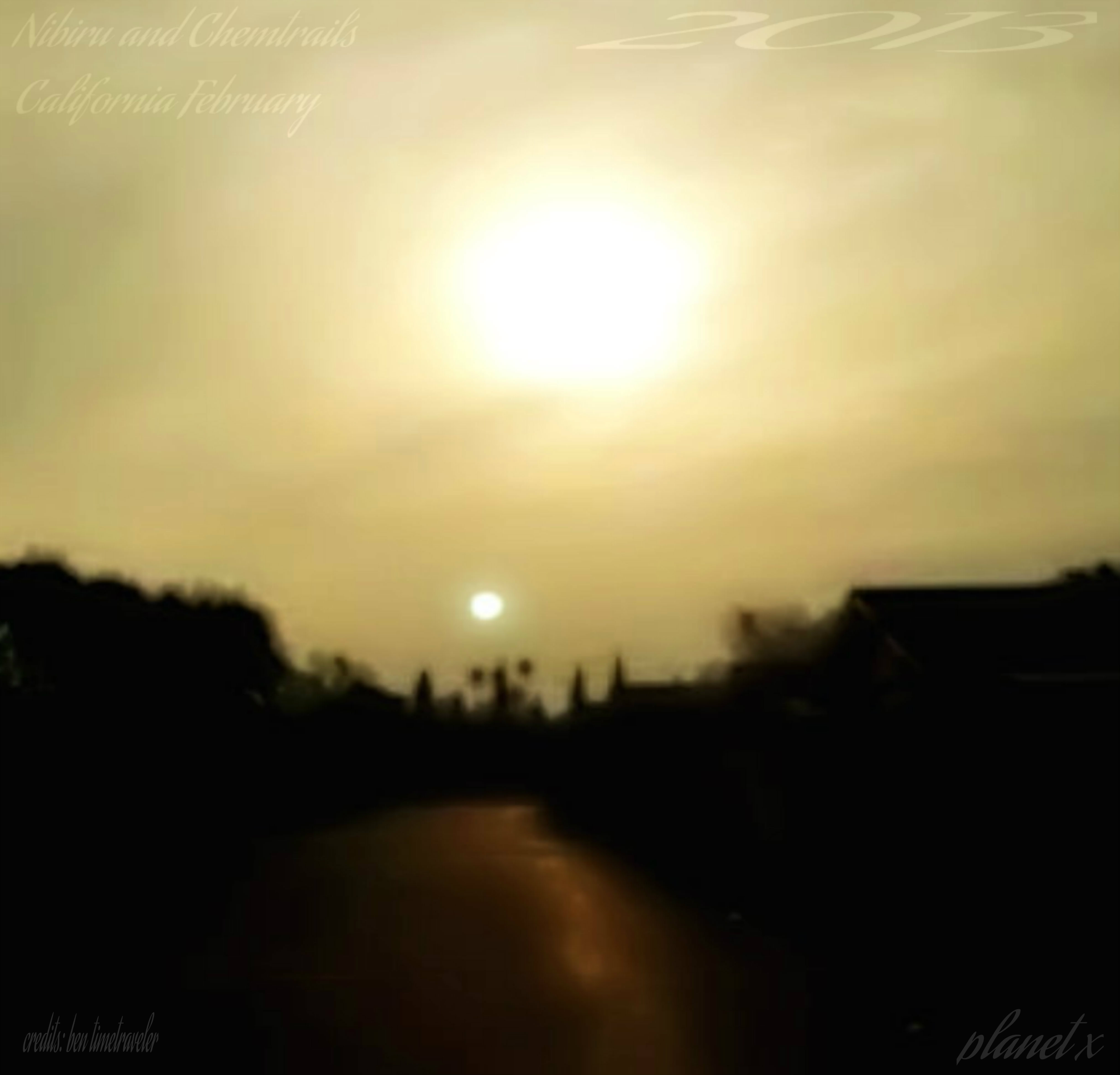 Planet X Nibiru Cali Febuary 2013 by guitarbri