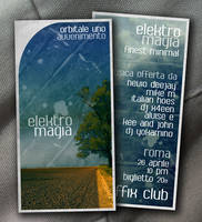 Elektro Magia Flyer by Sepedeh