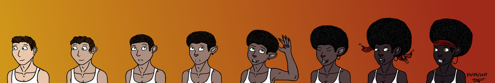 Just afro by Emillie-Wolf