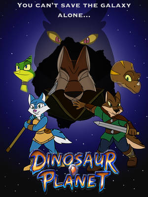 Dinosaur Planet The Animated Fanseries poster by WayCool64