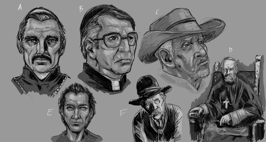 WESTERN HORROR Concept03 by ashbox75