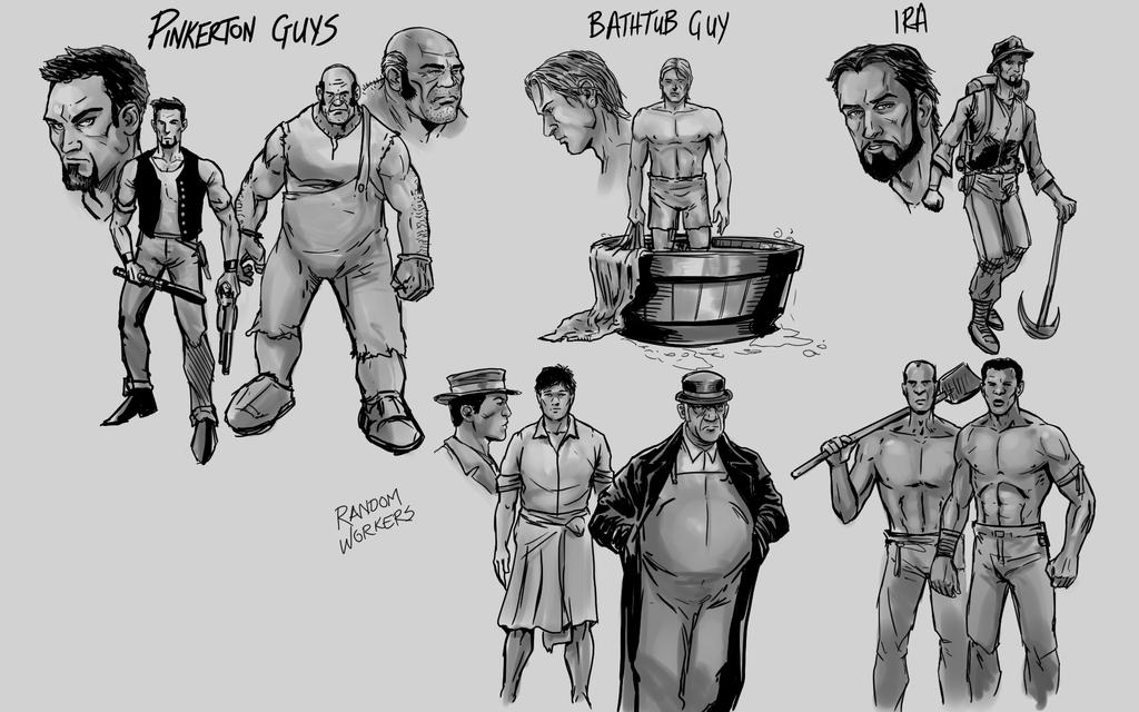 Iss2 CharacterConcepts by ashbox75