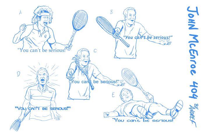 John McEnroe by ashbox75