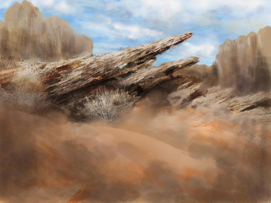 Desert by duncanli