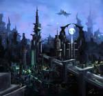 Sci-fi city!