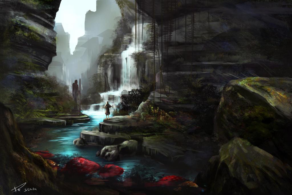 Waterfall by duncanli