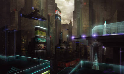 Another Sci Fi city!