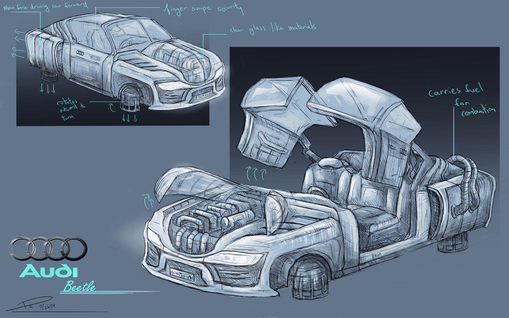 futuristic Vehicle by duncanli