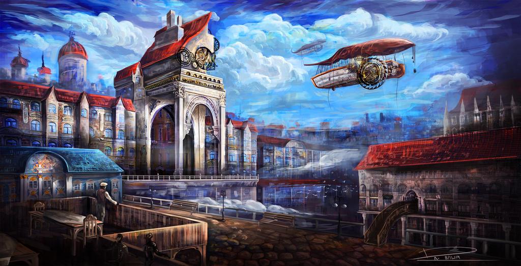 Steampunk by duncanli