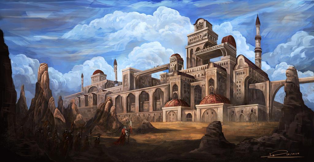 Desert Empire by duncanli