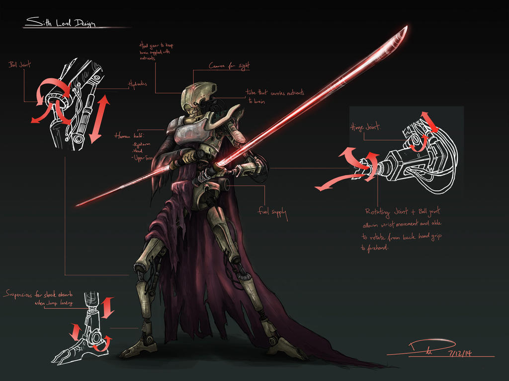 Sith Lord design by duncanli