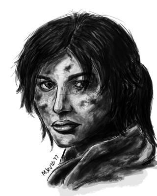 Tomb Raider by M-Jaravata