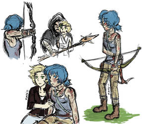 Tomb Raider AU by M-Jaravata