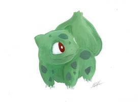 Bulbasaur by MilesofCrochet