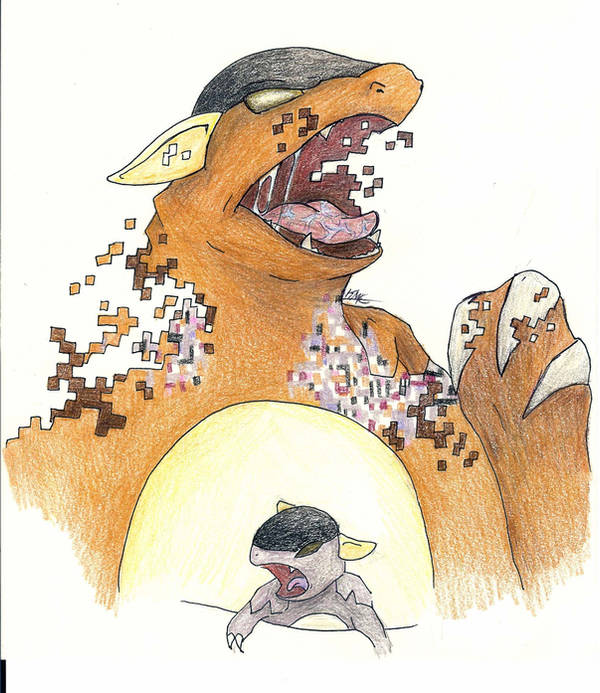 Missingno Is Evolving by MilesofCrochet