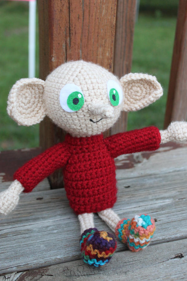 Knitting Pattern For Dobby The House Elf : Dobby Amigurumi by bandotaku on deviantART