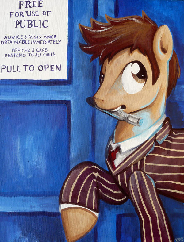 The Time Pony by bandotaku