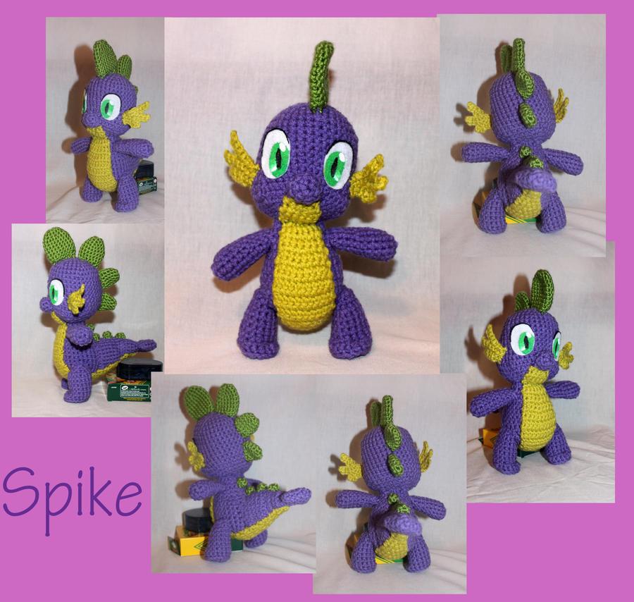 Dragon Amigurumi Eyes : Spike the Dragon Amigurumi by MilesofCrochet on DeviantArt