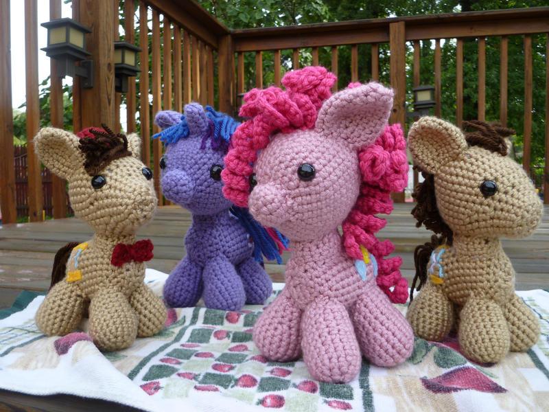 My Little Pony Amigurumis by bandotaku
