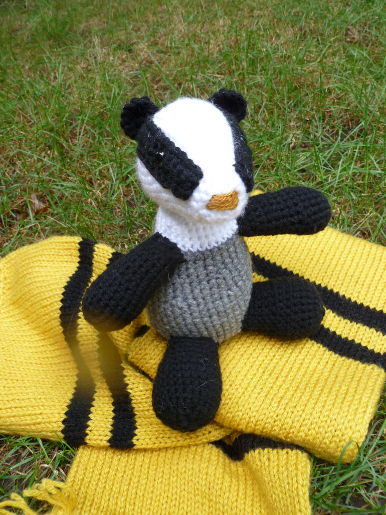 Badger Amigurumi by bandotaku