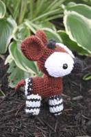 Okapi Amigurumi by MilesofCrochet